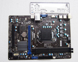 Wholesale B75MA E31 For MSI B75 Motherboard Socket LGA1155 CPU mATX PCIE