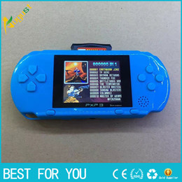 PXP3 16 bits enfants classiques de poche numérique console de jeux vidéo PVP PSP pour les enfants à partir de jeux vidéo pour les enfants fournisseurs