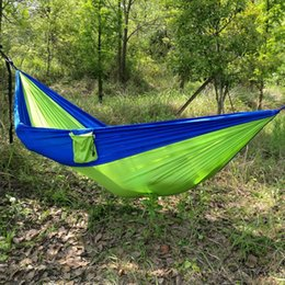 Outdoor hammock Tents and Shelters Hammocks Camping leisure swing chair 260CM*140CM