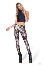 Polainas de la impresión de poliéster en venta-Leggings de las mujeres parte de noche sexy leggings delgado occidental moda nueva impresa hembra medias medias polainas leggings