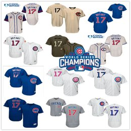 Wholesale 2016 World Series Champions Patch Kris Bryant Chicago Cubs Throwback Black Gray Green Blue White MLB Baseball Jerseys Outlets