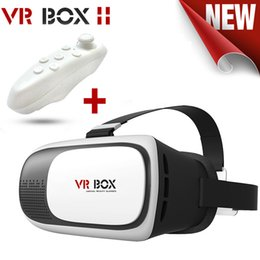 VR Box 2.0 Gamepad Virtual Reality 3D Glasses Helmet VR BOX For Smartphone 3.5 inch ~ 6 inch with Retail Package A-XY