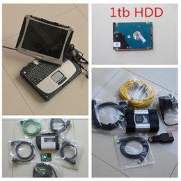 Wholesale For BMW for Benz in1 Software in TB HDD installed in CF diagnostic computer For bmw icom next mb star sd connect c4