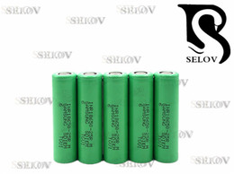 Wholesaler new samsung 25rm 18650 2500mAh 3.7V lithium ion vape battery samsung inr18650-25R M battery