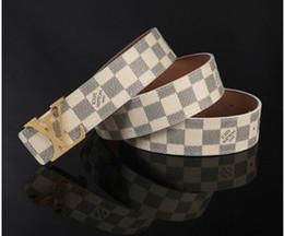 Wholesale Hot high quality genuine leather belt luxury Brand mc buckle belt designer luxury men for wome luxury classic men l belt v