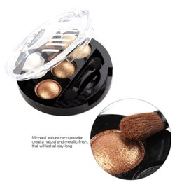 Wholesale New UBUB Color Baked Eye shadow Palette Powder Metallic Shimmer Nude Makeup Eye Shadow Bright Stereo Cosmetic Eyeshadow