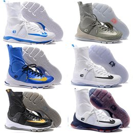 Wholesale Kd Basketball Shoes Sneakers Men Kevin Kds s Elite High Tops Blue Durants Aunt Pearl Socks Hombre Baby Kids Boots Sports Shoe