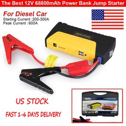 Wholesale 68800mAh Car Jump Starter Diesel Booster Motor Charger Battery Power Bank IN UK