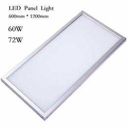 2017 качество панели лучшее качество Светодиодные индикаторы панели квадратные лампада 300 * 300 300 * 600 600 * 600 300 * 1200 600 * 1200 60W 72W Светодиодная панель с LED Driver качество панели для продажи