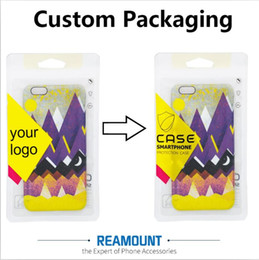 New Arrival Retail Universal Plastic Custom LOGO PVC Pakckaging Bags for Phone Case for iphone 7 7plus Packaging Bag