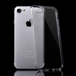 For iPhone X 8 Transparent Clear TPU Soft Gel Skin Waterprint Crystal Case Cover Protective Shell For iphone 7 6 6S 5 SE
