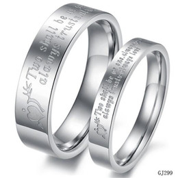 Wholesale DHL Free Engagement Rings Men Women Titanium Steel Ring for Couples Jewelry Fashion An Arrow Through a Heart