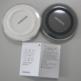 Wholesale Niubility Factory Universal Qi Wireless Charger fast Charging For Samsung Note Galaxy S6 s7 Edge mobile pad with logo with retail package