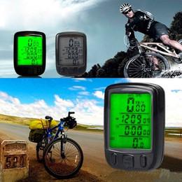 Wholesale Waterproof LCD Backlight Cycle Bicycle Bike Computer Odometer Speedometer