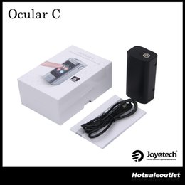 Wholesale Authentic Joyetech w Ocular C Touchscreen TC Box Mod Ocular W Touch Screen Mod with Photo Gallery Music Player and Pedometer Function