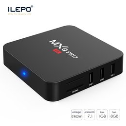MXQ Pro Android TV Box Amlgoic S905W Quad Core 1GB 8GB Android 7.1 wifi HD Google Streaming Media Player