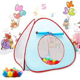 Compra Online Cabrito casa tienda de campaña-Venta al por mayor-Portable Niños Niños Play Tents Jardín al aire libre plegable bebé Toy Tent Girl Princesa Castillo Outdoor House Kids Tent