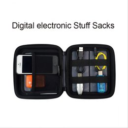 Headphones cable, usb multifunctional mobile hard disk box charger usb mobile phone accessories Stuff Sacks