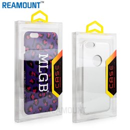 100 pcs Transparent PVC Blister Retail Packaging Box For Samsung s7 s7 Edge Phone Case Custom logo Universal Packing box