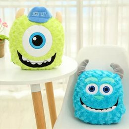 Wholesale 2016 New Arrival Monsters University Mike James Plush Blanket Best Christmas Gifts