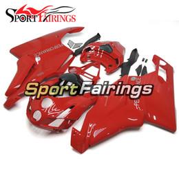 Injection Fairings For Ducati 999 749 03 04 2003 2004 Comnplete ABS Motorcycle Fairing Kit Bodywork Motorbike Cowlings Red Body Frames New