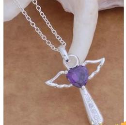 classic 925 silver cross pendant women's chain necklace (sp3658)