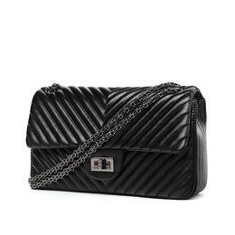 Wholesale hot sale fashion V blast rhombic chain bag European brand woman lady designer shoulder Messenger bags handbag