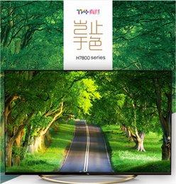 2016 tv lcd 55 TCL 49 pouces UHD Ultra HD 4K TV 4K vraiment unique zone de vidéo 4K, lumière naturelle 3D Android intelligent LED TV LCD tv lcd 55 autorisation
