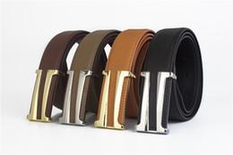 Compra Online Cinturones de cuero-2017 F famosos hombres de la correa de la marca de fábrica Cinturones de M de los hombres de cuero genuinos de calidad superior de Cowskin de la buena calidad del 100% para los hombres,