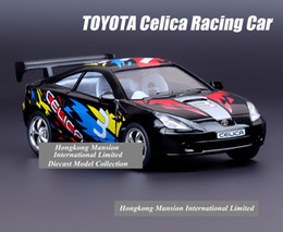 Wholesale 1 Scale Alloy Diecast Metal Car Model For TOYOTA Celica GT S Racing Car Collection Model Powerful Pull Back Toys Car