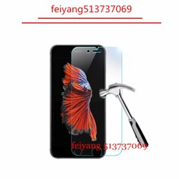 10pcs 9H 2.5D Tempered Glass for iPhone 8 5 5s 5c 6 6s 4s 4 Explosion Proof screen protector Film for iphone 7 plus