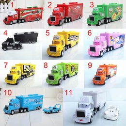 Wholesale Cars Mack Chick hauler Thai Pixar Car Lightning Hick Truck Toy car Kid different color
