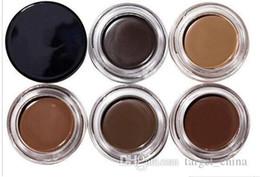Wholesale Pomade Makeup Eyebrow Waterproof Eyebrow Enhancers g Blonde Chocolate Dark Brown Ebony Auburn Medium Brown TALPE gift
