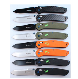 Wholesale Ganzo G7563 G7563 GR G7563 BK G7563 OR G10 folding knife