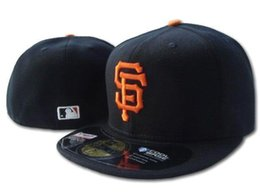 Wholesale 2017 HOT COLOR San Francisco Giants Fitted Hats Embroidered Team Logo SF Sport On Field Design Baseball Full Closed men woemn Caps