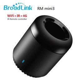 Original Broadlink RM Mini3 Black bean Smart Home Automation Universal Intelligent WiFi IR 4G Wireless Controller by SmartPhone
