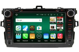 Wholesale Android octa core core HD car dvd player for Toyota Corolla gps radio auto g tape recorder head units