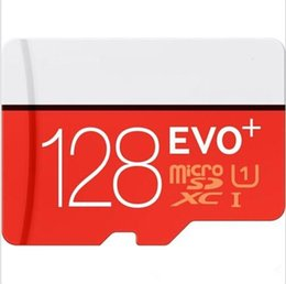 Wholesale DHL GB GB GB EVO Plus Class10 UHS MicroSDXC Card for Samsung Galaxy S6 S7 Note3 HTC Phone with SD Adapter DHL free