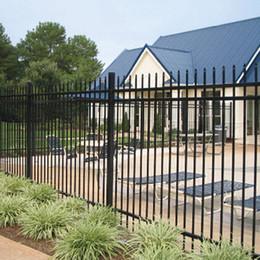 Wholesale Iron Door Garden Buildings Patio Lawn Garden Home Arches Arbours Patio fence Trellis Gates Garden Buildings free shopping no6