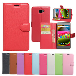 Wholesale Promotion Offer Flip Wallet Case for iPhone Case Archos Cobalt Plus Diamond Selfie inside TPU Case with Magnet Kickstand Case