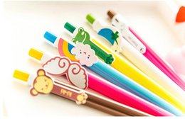 Wholesale 50pcs rainbow ball pens wing ball pointpen candy colored ballpen carton pen promotion gift bulk package
