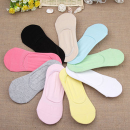 2016 pantoufles chaussures mignonnes Grossiste - 3Pair mince chaussures chaussettes chaussettes femmes pantoufles Sock Chaussettes Sock Chaussettes Femmes Invisible Cute Calcetines sweat-Absorbent pantoufles chaussures mignonnes sortie