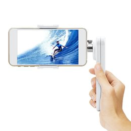 Wholesale Polaroid Axis Steady Gimbal Handheld Folding Stabilizer Phone Holder with Multi angle for Smartphone iPhone Samsung Galaxy inch