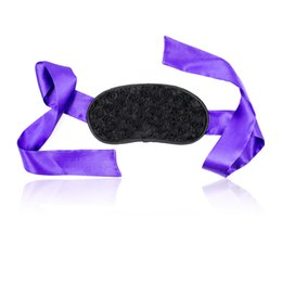 Sex BDSM Erotic Adult Soft Stain Blindfold for Couple Flirt Bondage Toys Role Play Games Sexy Products