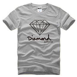 Wholesale 2017 New Fashion Men s Short Sleeve T shirt South China Sea Bank Original Old Diamond Supply Co Diamonds Tide Pure Cotton