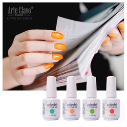 Wholesale On Sale ml Arte Clavo Choose Any Color UV Gel Nail Lamp Top And Base Gel UV Color Soak Off Nail Gel Polish