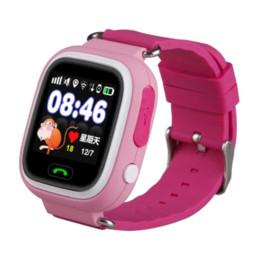 2017 dispositivo de niño perdido GPS Q90 Reloj Pantalla táctil WIFI Posicionamiento Smart Watch Niños SOS Llamada Ubicación Finder Dispositivo Anti Lost Recordatorio PK Q60 Q80 dispositivo de niño perdido oferta