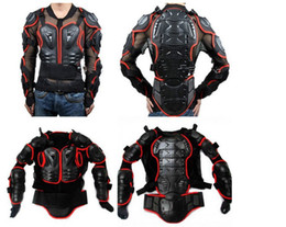 Wholesale Motorcycle Riding Body Protection Armor Spine Chest Protective Jacket High tech products Human Engineering Black Black red