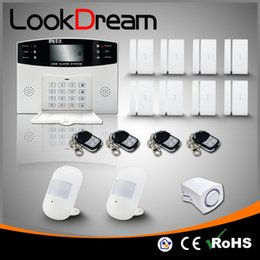 Update Wireless House Smart Electronic GSM Anti Burglar Security Alarm System For Home Low Consume Power By DHL