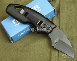 Free shipping Cold Steel 710MTS Serrated edge Folding Knife camping pocket hunting knife knives